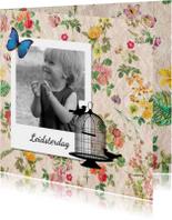 Vintage kaart leidsterdag - DH