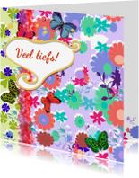Vriendschap kaarten - Vlinder Collectie Linde