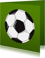 Zomaar kaarten - Voetbal groen