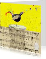 Geboortekaartjes - Vogel en ei