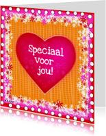 Vriendschap kaarten - Voor jou hartje