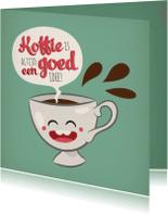 Vriendschap kaarten - Vriendschap koffie kopje
