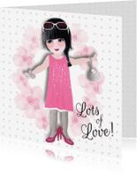 Vriendschap kaarten - Vriendschap Lots of Love L&T