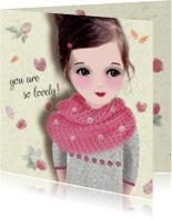 Vriendschap kaarten - Vriendschap Lovely -LT