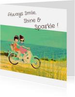 Vriendschap kaarten - Vriendschap Smile & Shine -LT