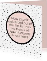 Vriendschap kaarten - Vriendschapskaartje gedicht - WW