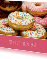 Kinderfeestjes - Vrolijke Donuts