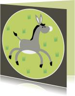 Vrolijke ezel