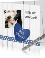 Felicitatiekaarten - Wedding wishes - DH