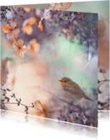 Zomaar kaarten - Wens met hortensiabloemen