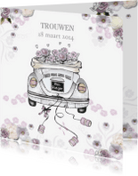Trouwkaarten - Wij gaan trouwen kever