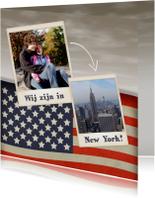 Vakantiekaarten - Wij zijn in... Amerika! - BK