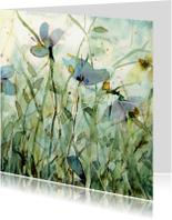 Bloemenkaarten - wilde tuin