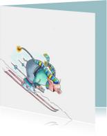 Vakantiekaarten - wintersport