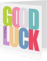 Coachingskaarten - Woorden Good Luck - BK