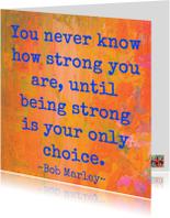 Sterkte kaarten - You are so strong