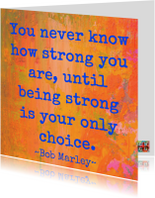 Sterkte kaarten - You are so strong