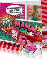 Moederdag kaarten - YVON moederdag liefste mamma vk
