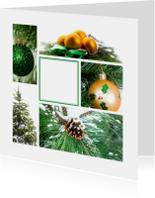 Zakelijke kerstkaarten - Zakelijke kertkaart Groen