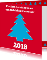 Nieuwjaarskaarten - Zakelijke nieuwjaars kaart 01