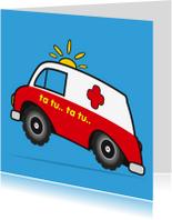 Beterschapskaarten - Zieksnel beter sterkte ziekenauto 73