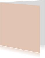 Blanco kaarten - Zilver roze dubbel vierkant