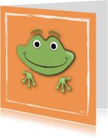 Kinderkaarten - zoe-t kikker