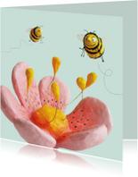 Zomaar bloem en bijtjes