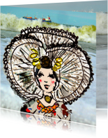 Zomaar kaarten - Zomaar een Zeeuws meisje