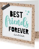 Zomaar kaart Friends