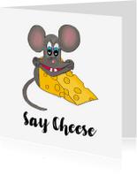 Zomaar kaarten - Zomaar kaart Say Cheese PA