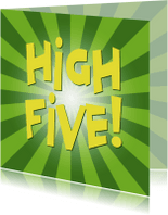 Zomaar kaarten - zomaar kaarten - highfive