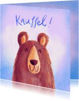 Zomaar kaarten - Zomaar knuffelbeer