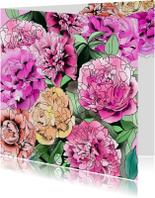 Zomaar kaarten - Zomaar veel bloemen