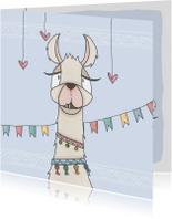 Zomaar kaarten - Zomaar Vrolijke Lama - LFZ