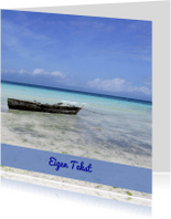 Vakantiekaarten - Zon zee strand