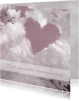 Condoleancekaarten - Zwaar Hart