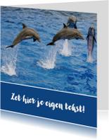 Geslaagd kaarten - Zwemdiploma 3 - Dolfijn - OT
