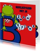 Geslaagd kaarten - Zwemdiploma B jongens
