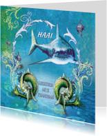 Geslaagd kaarten - Zwemdiploma gefeliciteerd - HAAI - SG