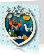 Kinderkaarten - Zwemdiploma - Kinderkaart