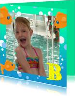 Geslaagd kaarten - Zwemdiploma Vis A B C