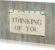 Sterkte kaarten - 12049 Sterkte kaart Thinking of you