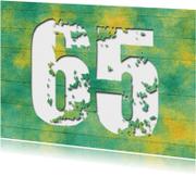 Uitnodigingen - 14214 Uitnodiging 65 jaar