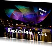 Ansichtkaarten - Amsterdam Light Festival 3 - OT