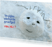 Ansichtkaarten - ansicht Vrolijke Wintergroet