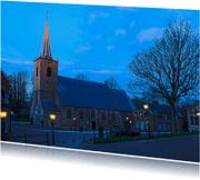 Ansichtkaarten - Ansichtkaart Kerk MM