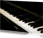 Ansichtkaarten - Ansichtkaart Piano 2