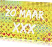 Ansichtkaarten - Ansichtkaart zomaar XXX