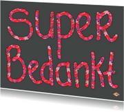 Bedankkaartje Super PA